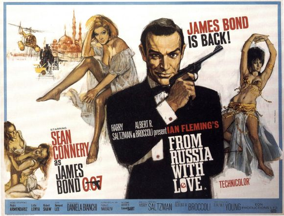 From Russia With Love Poster 3