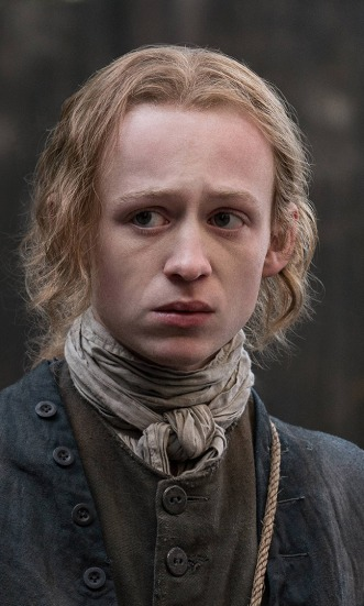 John Bell as young Ian Murray