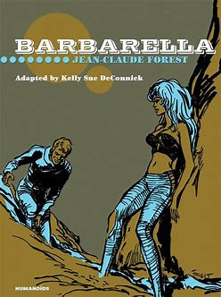 Barbarella Comic Book